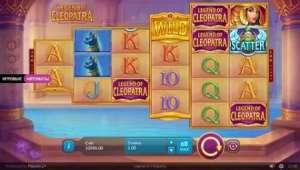 Казино онлайн. Legend of Cleopatra - игровой автомат в форме пирамиды
